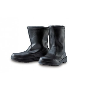 85024 本格仕様の半長靴 天然牛革使用 JIS規格合格品 XEBEC ジーベック 24.0〜29.0cm セーフティシューズ ワークブーツ|daijirounet