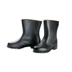 85028 本格仕様の半長靴 天然牛革使用 JIS規格合格品 XEBEC ジーベック 24.0〜29.0cm セーフティシューズ ワークブーツ|daijirounet