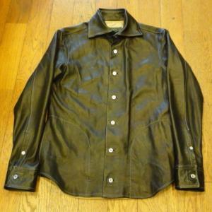 [代官山FULL UP]   S.D.Kの古着レザーシャツジャケット  古着/中古/代官山|daikanyama-fullup