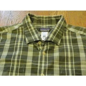 [代官山FULL UP]  Patagoniaの古着イタリアンカラー チェックシャツ (M)   古着/中古/代官山|daikanyama-fullup