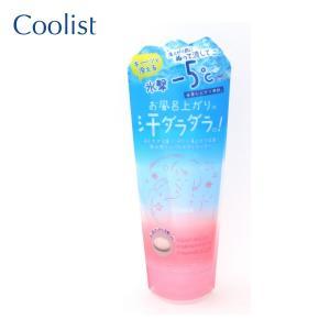 汗だく湯上り卒業!お風呂から出る前に塗ってシャワーで流すだけで、お風呂上がりに冷感が持続します。