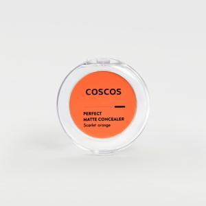 COSCOS カラーコンシーラー スカーレットオレンジ 青クマ クマ 青み 目元・頬・口紅 保湿成分...
