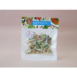 国産 乾燥野菜 即席スープ あおぞらスープ きのこと生姜スープ 岡山県産|daiki-foods