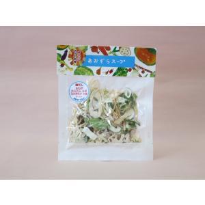 国産 乾燥野菜 即席スープ あおぞらスープ 白ねぎとれんこんスープ 岡山県産|daiki-foods