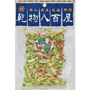 国産 乾燥野菜 乾物八百屋 野菜炒めミックス 40g 岡山県産|daiki-foods