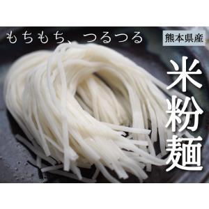 米粉麺 グルテンフリー 6個入り 熊本県産 ヒノヒカリ 国産 米粉うどん パスタ 離乳食 フォー|daikichimiso|02