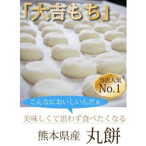 餅 もち 丸餅 1kg 18〜20個程度 お正月 熊本県産 無添加 おもち 小餅 こもち 玉名産|daikichimiso|02