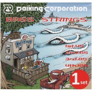 Daikingベース弦1セットパックロングスケールミディアムライトゲージ|daikingcorporation