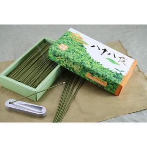 線香 薫寿堂 八十八夜 緑茶成分配合の線香|daikokuya-b