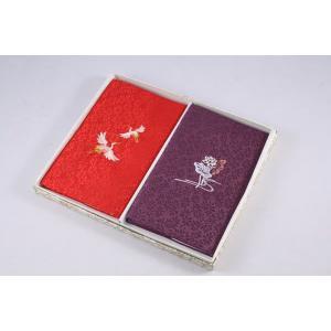ふくさ 輪子刺繍入り金封ふくさ:慶弔セット 日本製|daikokuya-b