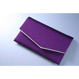 数珠袋 念珠袋 ちりめん:紫|daikokuya-b