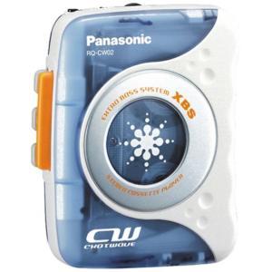 Panasonic RQ-CW02-A ヘッドホンステレオ (ブルー)