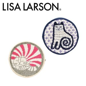LISA LARSON(リサ・ラーソン)円形ポーチ 選べる人気キャラクター|daily-3