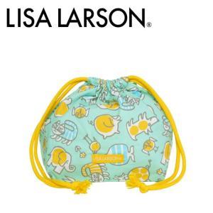 LISA LARSON(リサ・ラーソン)ベイビーマイキーポップ マチ付き巾着|daily-3