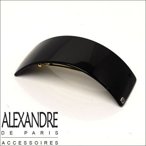 アレクサンドルドゥパリ バレッタ(カーブ)ブラック Alexandre de Paris|daily-3