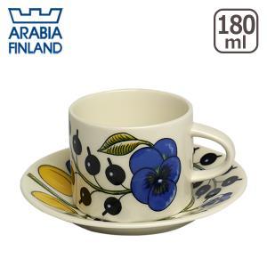 アラビア パラティッシ イエロー コーヒーカップ&ソーサー GF3 daily-3