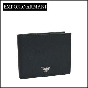 エンポリオアルマーニ (Emporio Armani) 二つ折り財布小銭入れ付き YEM122 YAQ2E デニム|daily-3