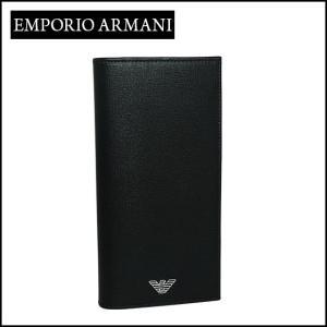 エンポリオ・アルマーニ 長財布小銭入れ付き YEM474 YC91E ブラック daily-3