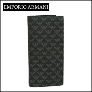 エンポリオアルマーニ (Emporio Armani) 長財布小銭入れ付き Y4R060 YO23J ブラック daily-3