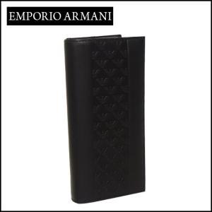 エンポリオアルマーニ (Emporio Armani) 長財布小銭入れ付き YEM474 YAL3V ブラック|daily-3