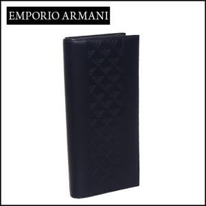 エンポリオアルマーニ (Emporio Armani) 長財布小銭入れ付き YEM474 YAL3V ネイビー|daily-3