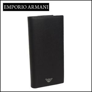 エンポリオアルマーニ (Emporio Armani) 長財布小銭入れ付き YEM474 YAQ2E ブラック|daily-3