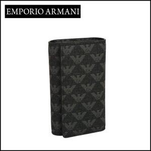 エンポリオアルマーニ (Emporio Armani) 6連キーケース Y4R068 YO23J ブラック|daily-3