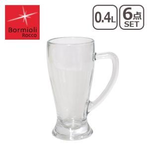 Bormioli Rocco(ボルミオリロッコ)ビアグラス バビエラ ビアグラス 0.4L 1.33440 (6個入)RBR-06|daily-3