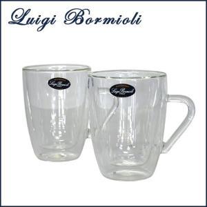 ルイジ ボルミオリ グラス (Luigi Bormioli) 2層 グラス ダブルウォールドリンクデザイン(2ヶ入) マグ320 10356/01|daily-3
