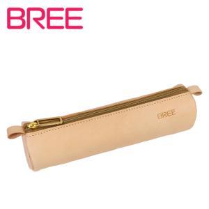 BREE ヌメ革 ペンケース J 5 ナチュラル|daily-3