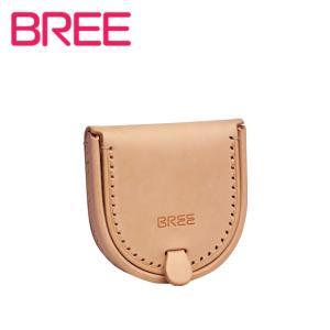 BREE ヌメ革 コインケース J 9 ナチュラル|daily-3