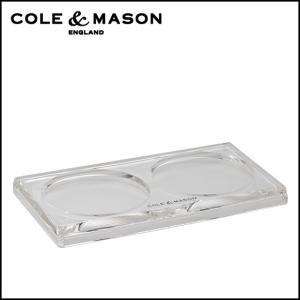 コール&メイソン(Cole & Mason) ミル用 アクリルトレイ H306119C|daily-3