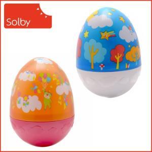 Solby(ソルビィ)おきあがりムックリ 選べる柄ゆらゆら揺れるたまご型|daily-3