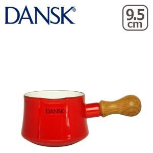 ダンスク 鍋 バターウォーマー チリレッド ホーロー 片手鍋 ビストロ 北欧 ミルクパン DANSK dan0003|daily-3