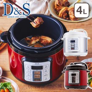 D&S(デザイン アンド スタイル) マイコン電気圧力鍋 STL-EC50 4.0L daily-3