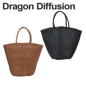 ドラゴンディフュージョン Dragon Diffusion レザーメッシュ トートバッグ 8808 Weave Myra Basket 選べるカラー|daily-3