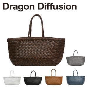 ドラゴンディフュージョン Dragon Diffusion レザーメッシュ トートバッグ 8811 BAMBOO TRIPLE JUMP SMALL 選べるカラー|daily-3