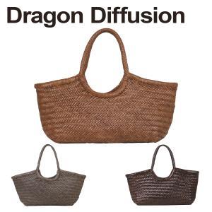 ドラゴンディフュージョン Dragon Diffusion レザーメッシュ トートバッグ 8822 Nantucket Basket 選べるカラー|daily-3