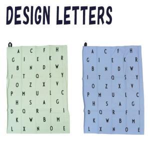 デザインレターズ 北欧 ティータオル アルファベット 50x70cm 選べるカラー DESIGN LETTERS|daily-3