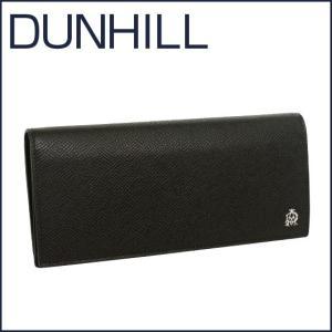 DUNHILL(ダンヒル)BOURDON レザー 長財布(小銭入れ付き) L2X210A ブラック|daily-3