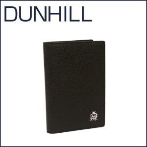 DUNHILL(ダンヒル)BOURDON レザー カードケース L2X247A ブラック|daily-3