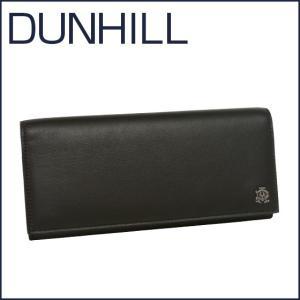 DUNHILL(ダンヒル)REEVES レザー 長財布(小銭入れ付き) L2XR10A ブラック|daily-3