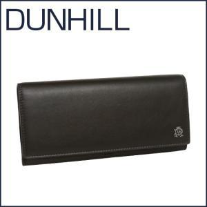 DUNHILL(ダンヒル)REEVES レザー 長財布(小銭入れ付き) L2XR10Z グレー|daily-3