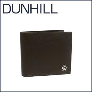 DUNHILL(ダンヒル)REEVES レザー 二つ折り財布(小銭入れ付き) L2XR32Z グレー|daily-3