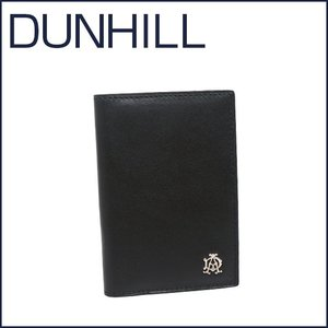 DUNHILL(ダンヒル)REEVES レザー カードケース L2XR47A ブラック|daily-3