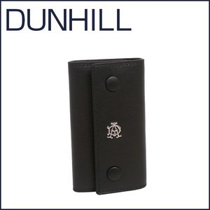 DUNHILL(ダンヒル)REEVES レザー キーケース L2XR51A ブラック|daily-3
