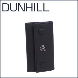 DUNHILL(ダンヒル)REEVES レザー キーケース L2XR51N ネイビー|daily-3