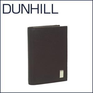 DUNHILL(ダンヒル)SIDECAR レザー 名刺入れ FP4700E ブラウン|daily-3