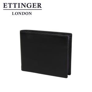 エッティンガー 二つ折り財布 ブラック パープル コレクション 030JR|daily-3