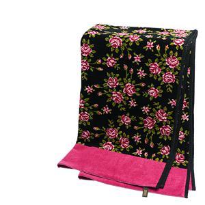 フェイラー バスタオル ミリアム ブラック - チェリー FEILER daily-3